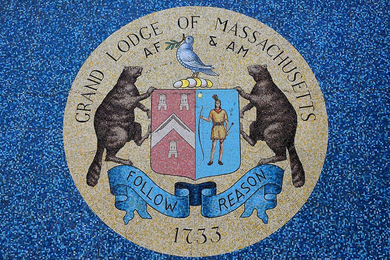 Massachusetts Boston Freemasonry Grand Lodge Seal