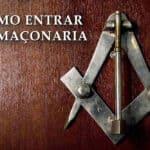 A minha entrada na Maçonaria