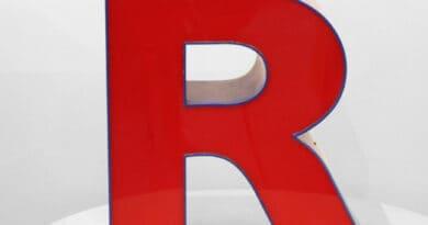 letter r 34erdtr
