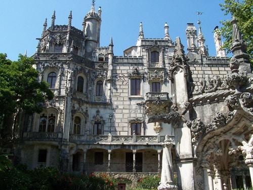 Palácio da Regaleira - Vista Frontal