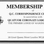 O Quatuor Coronati Correspondence Circle