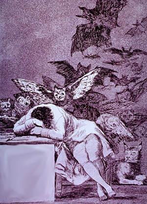 sleep of reason goya